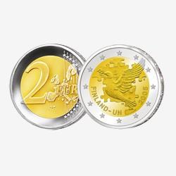 2005 - Finlande - 2 Euros commémorative ONU
