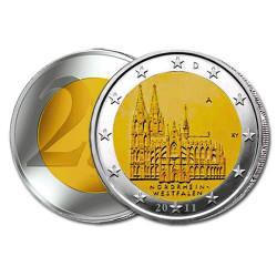 2 Euro Cathédrale de Cologne - Allemagne 2011