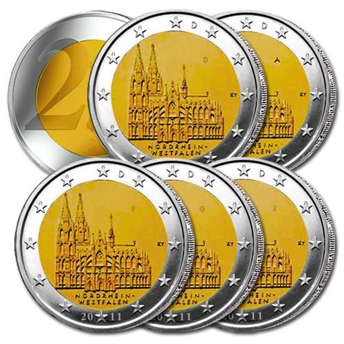 La série 2€ Allemagne 2011 des 5 ateliers ADFGJ