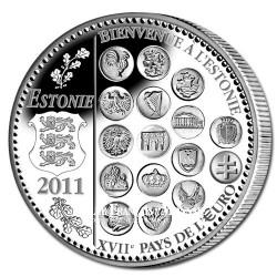 EURO 2011 - Entrée de l'Estonie dans L'Euro