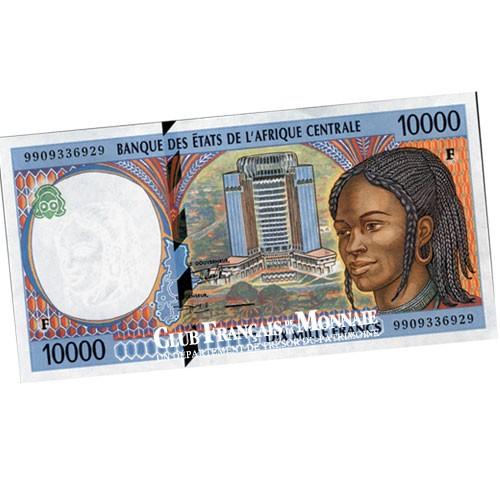 Billet de 10 000 Francs d'Afrique Centrale