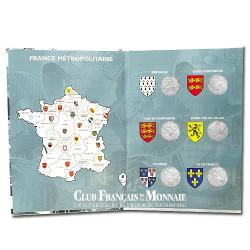 Livre complet écrin Euros des régions 2010