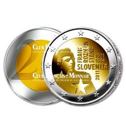 2 euro 100 ans de la naissance de Franc Rozman - Slovénie 2011