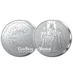 100 Euro Argent Hercule - France 2011