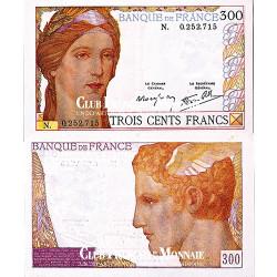 Billet 300 Francs Cérès