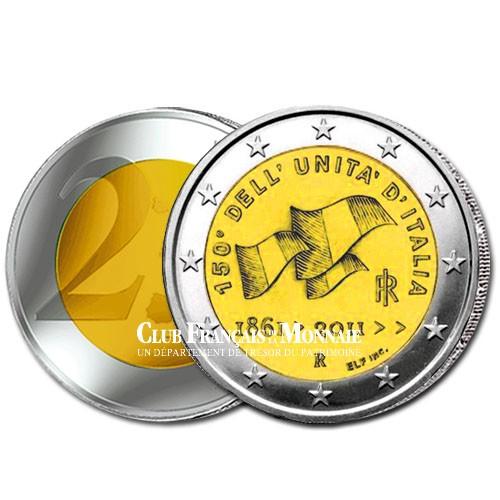 2 Euro 150 ans de l'unification de l'Italie - Italie 2011
