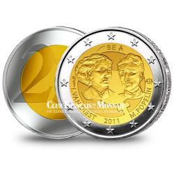 2 Euro 100 ans de la Journée de la Femme - Belgique 2011