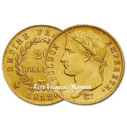20 Frs Or Napoléon Empereur 1812W