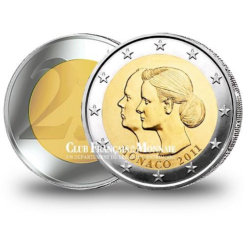 2 Euro Mariage Princier BU - Monaco 2011