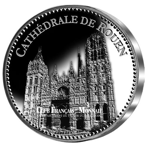 Cathédrale de Rouen - Argent BE