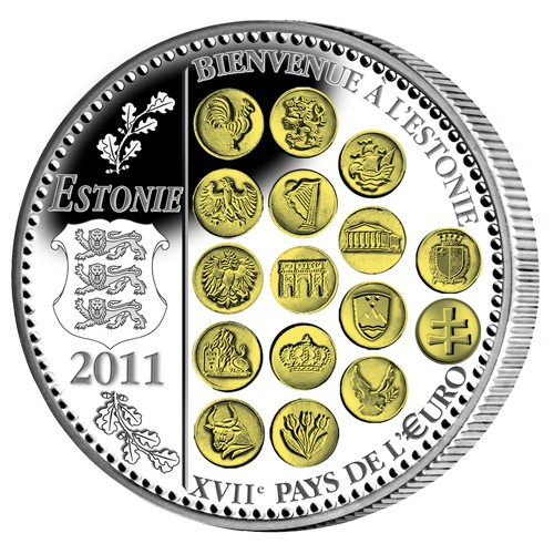 L'euro en 2011 - avers