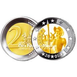 2005 - ESPAGNE - 2 Euro  commémorative