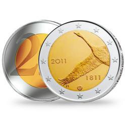 2 Euro 200 ans de la Banque finlandaise - Finlande 2011