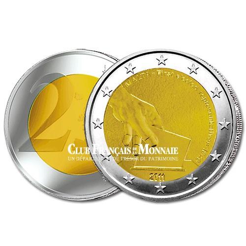 2 Euro Premières élections représentatives de 1859 - Malte 2011
