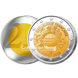 2 Euro 10 ans de l'Euro - France 2012
