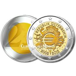 2 Euro 10 ans de l'Euro - Autriche 2012