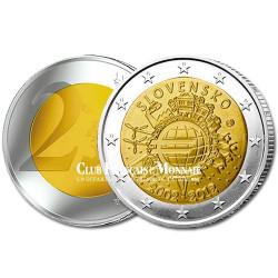 2 Euro 10 ans de l'Euro - Slovaquie 2012