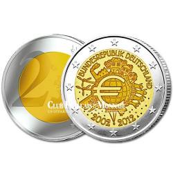 2 Euro 10 ans de l'Euro - Allemagne 2012