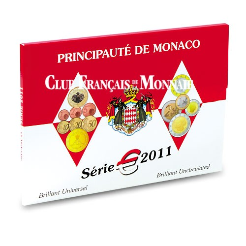 Coffret BU - Monaco 2011