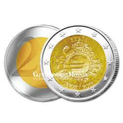 2 Euro 10 ans de l'Euro - Estonie 2012