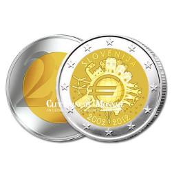 2 Euro 10 ans de l'Euro - Slovénie 2012