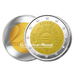 2 Euro 10 ans de l'Euro - Espagne 2012