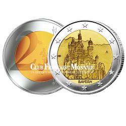 2 Euro Château de Neuschwanstein - Allemagne 2012