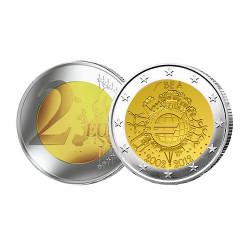 2 Euro 10 ans de l'Euro - Belgique 2012