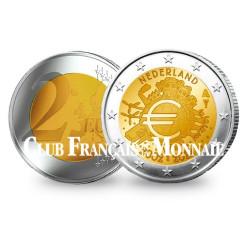 2 Euro 10 ans de l'Euro - Pays-Bas 2012
