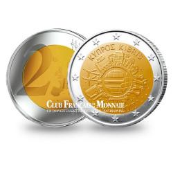 2 Euro 10 ans de l'Euro - Chypre 2012