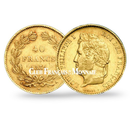 40 Francs Or Louis Philippe - 1838 A