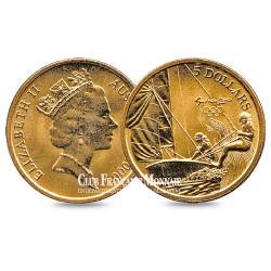5 Dollars JO de Sydney : Voile - Australie 2000