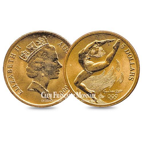 5 Dollars JO de Sydney : Gymnastique - Australie 2000