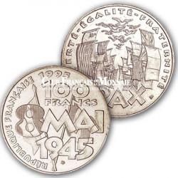 1995 - 100 Francs Argent 8 mai 1945