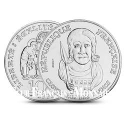 100 Francs Argent Clovis - France 1996