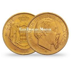 100 Francs Or Charles III de Monaco