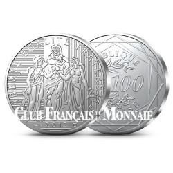 100 Euro Argent Hercule - France 2012