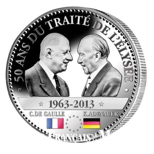 1963 - 2013 50e ANNIVERSAIRE DU TRAITÉ DE L'ÉLYSÉE