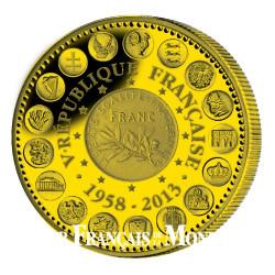 2013 – 55 ans de la Ve République - Bronze