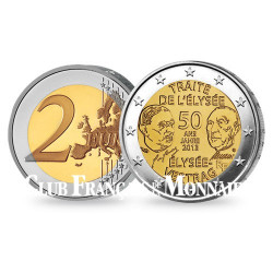2 Euro 50 ans du Traité de L'Élysée - France 2013