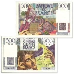Billet de 500 Francs Chateaubriand TTB/SUP