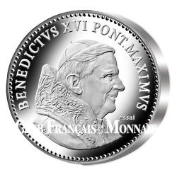 Benoît XVI : La pièce du souvenir 2005 - Argent BE