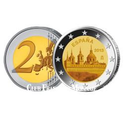 2 Euro Monastère de l'Escurial - Espagne 2013