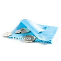 Chiffon de polissage pour monnaies
