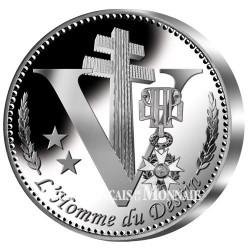 Charles de Gaulle - revers Argent BE