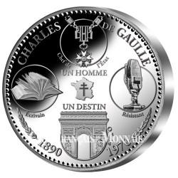 Charles de Gaulle - Son Destin Argent BE