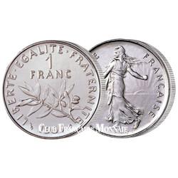 1 F SEMEUSE Vème République - 1977