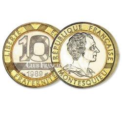 10 Francs 300 ans de Charles de Montesquieu - France 1989