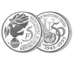 5 Francs ONU – France 1995