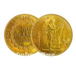50 Francs Or Génie - France 1904